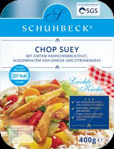 Chop Suey mit zartem Hähnchenbrustfilet, ausgewähltem Asia Gemüse und Zitronengras