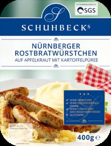 Nürnberger Rostbratwürstchen