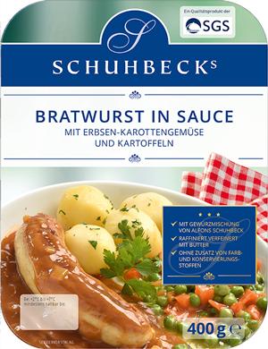 Bratwurst in Sauce